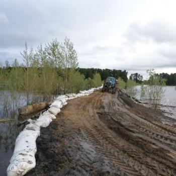 На территории Тымского сельского поселения введен режим «Чрезвычайная ситуация»